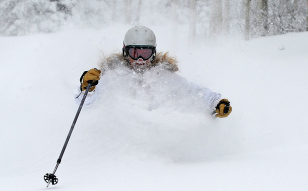 Steamboat enjoyed more than three feet of snow over five days.