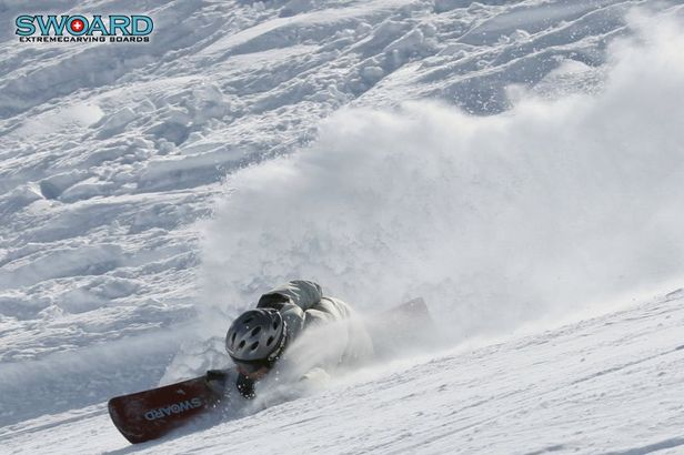 Extreme Carving Session Zinal