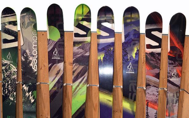 La gamme Salomon Q-skis