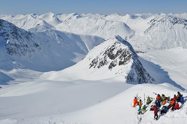 Five of the best resorts for heli-skiing ©Michael Neumann