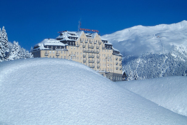 Five of the best resorts for non-skiers- ©Carlton Hotel