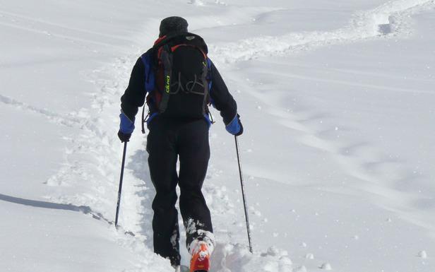 Ski de randonnée à Praz de Lys - Sommand