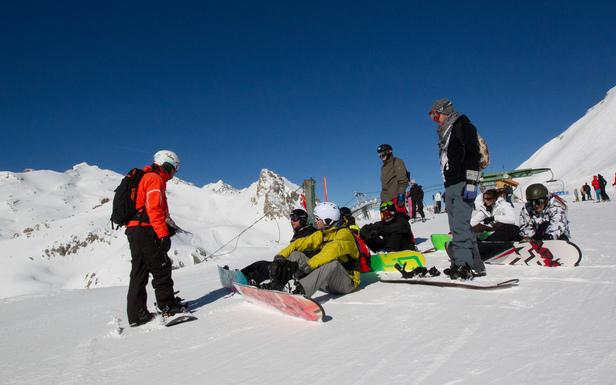 Point neige dans les Alpes du Sud (25/04/2013) ©OT de Serre Chevalier