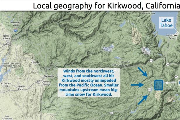 Kirkwood Snow 101- ©OpenSnow.com