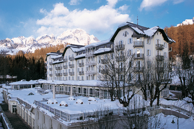 Where can you find A-List Celebrities on the Slopes?- ©Cristallo Palace Hotel and Spa