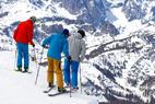 Mammoth skiers  - ©Cody Downard Photography