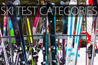 Infographic: 2015 Ski Test Category Breakdown - ©Cody Downard Photography