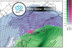 Snow Before You Go: Sunday Storm Bringing Another Round of Fresh - © Meteorologist Chris Tomer