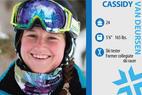 Ski Tester: Cassidy Van Deursen - Cassidy Van Deursen. Job