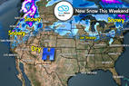 Snow Before You Go: 3 Storm Systems Headed Here... - ©Meteorologist Chris Tomer