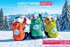 Au printemps, le ski c'est gratuit pour les enfants dans les stations LABELLEMONTAGNE - ©LABELLEMONTAGNE