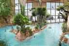 L'AQUARIAZ, le nouvel espace aquatique d'Avoriaz - ©Pierre et vacances