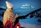 Auf Schneeschuhen durch die magische Vollmondnacht: Schneeschuhwandern in der Tiroler Zugspitz Arena