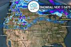 4.20 Snow Before You Go: Stormy 5 Days for West - ©Meteorologist Chris Tomer