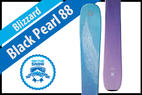 Blizzard Black Pearl 88: Women's 17/18 All-Mountain Front Editors' Choice Ski - © Blizzard