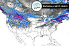 12.21 Snow Before You Go: Active Holiday Jet Stream East & West - © Meteorologist Chris Tomer