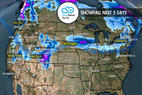 4.19 Snow Before You Go: Storms Reboot East & West ©Meteorologist Chris Tomer