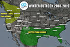 Winter 18/19 Long-Range Weather Forecast - © Meteorologist Chris Tomer