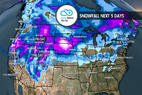 Multiple Storms & 1-3 Feet for Parts of West: 11.29 Snow B4U Go - © Meteorologist Chris Tomer