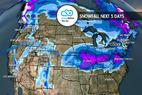 Snow Hits Soon for West & Northeast: 1.10 Snow B4U Go - © Meteorologist Chris Tomer