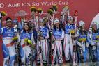Team-Wettbewerb: Österreich gewinnt in Schladming - © Alain GROSCLAUDE/AGENCE ZOOM