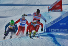 Ski Cross: Schweizer Lüdi und Fiva siegen in Les Contamines - © Nuts
