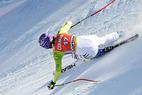 Training in Sestriere: Pärson Schnellste, Riesch auf Rang zehn - ©Alain GROSCLAUDE/AGENCE ZOOM