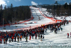 Ski-Weltcup am Arber: Medieninteresse groß wie nie zuvor - © Arber Bergbahnen