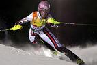 Maria Riesch feiert Sieg bei der Super-Kombination in Whistler - ©FISCHER
