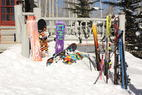 Ski hire or schlep your own skis to the slopes?