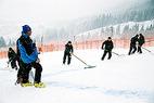 Neuschnee verhindert Trainingsauftakt in Kitzbühel - ©Kitzbüheler Ski Club