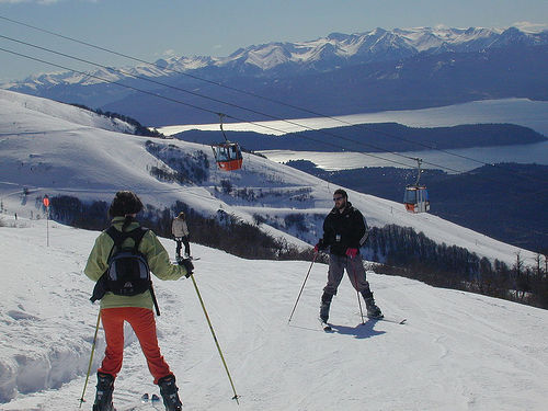 Letní lyžařské středisko Cerro Catedral, Argentina