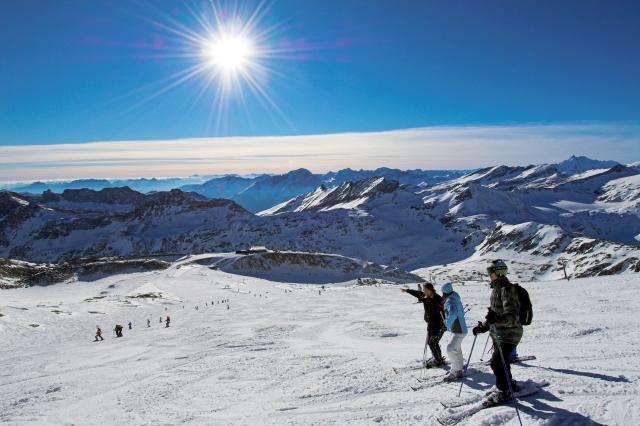 Slnečná lyžovačka na ľadovci Mölltal | © HT-NPR, D. Zupanc