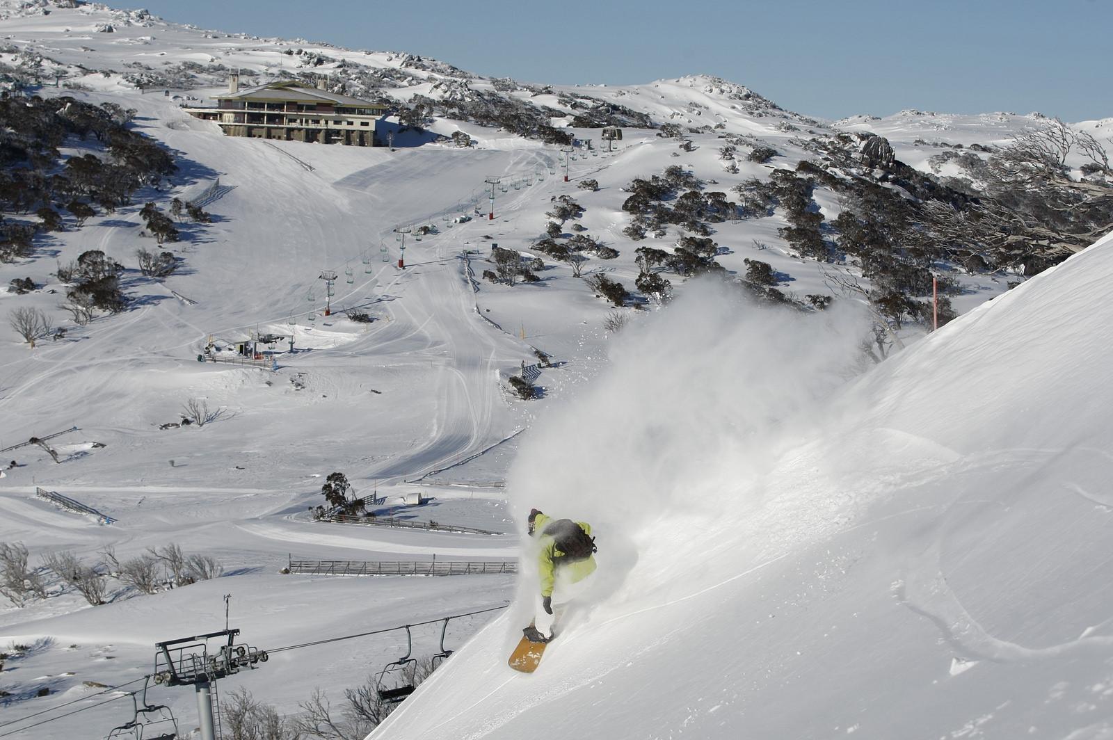 Letné lyžiarske stredisko Perisher, Austrália