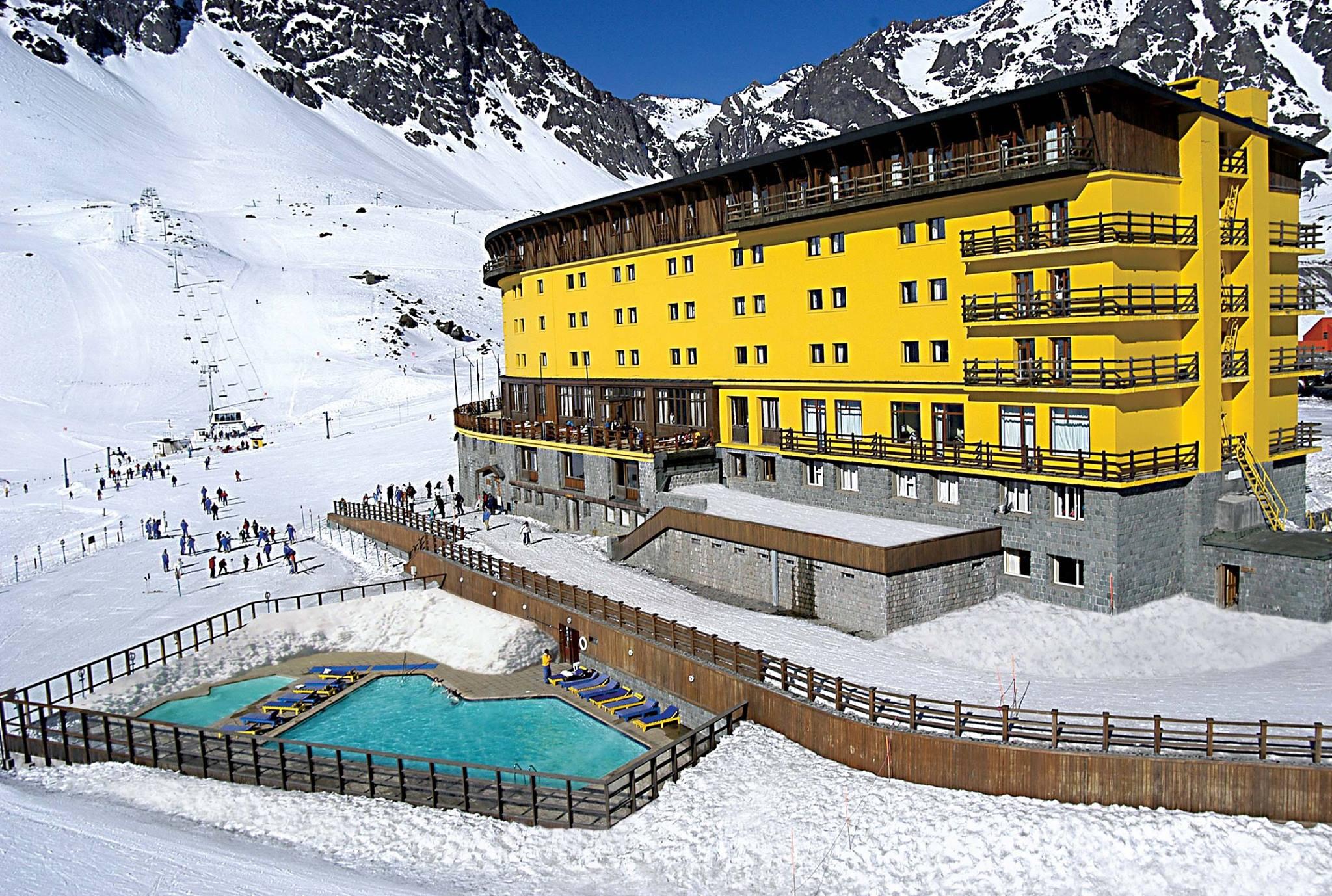 Letní lyžařské středisko Ski Portillo, Chile