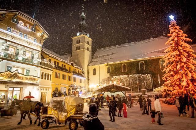 Magická vianočná atmosféra v Megeve