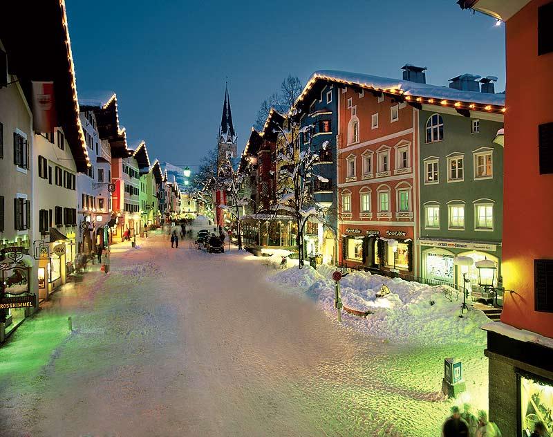 Jedno z najobľúbenejších rakúskych lyžiarskych stredísk - Kitzbühel