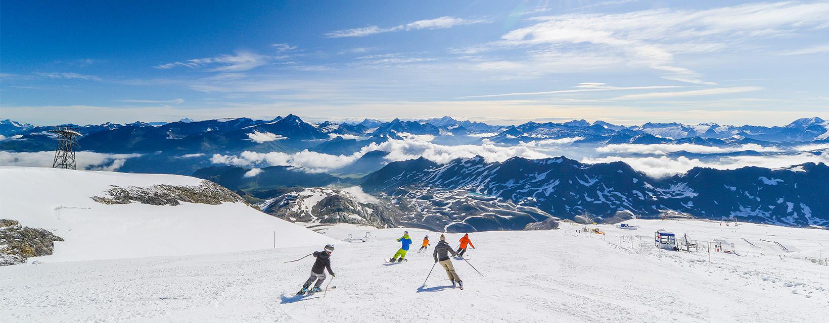 Kam v októbri na lyže