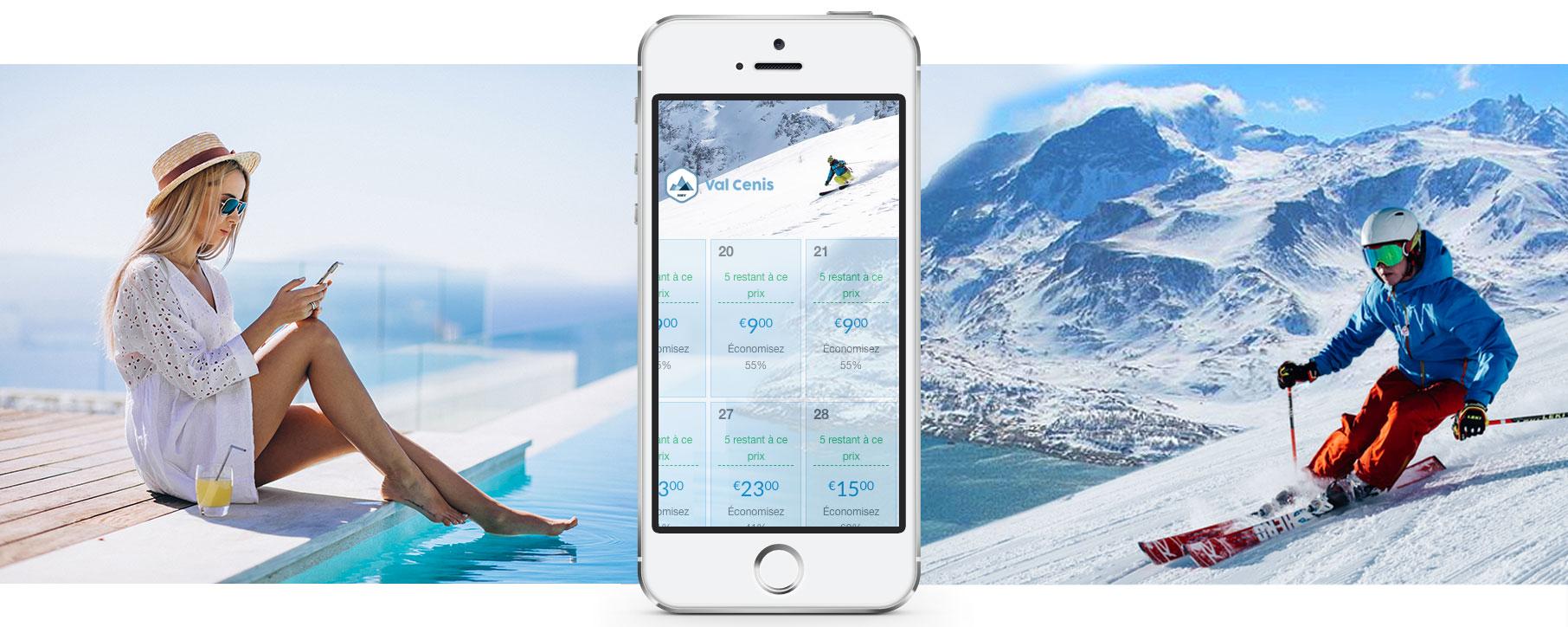 La station de ski de Val Cenis adopte la tarification dynamique de ses forfaits de ski