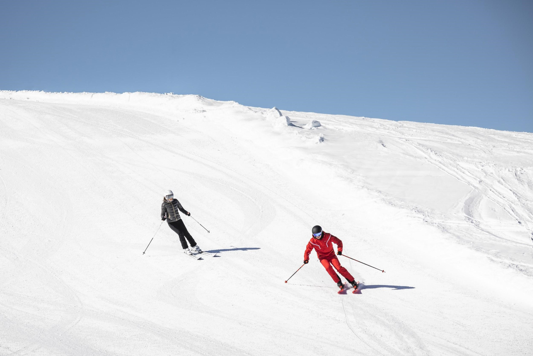 Frühaufsteher oder Langschläfer? Es findet sich für jeden der passende Skikurs!