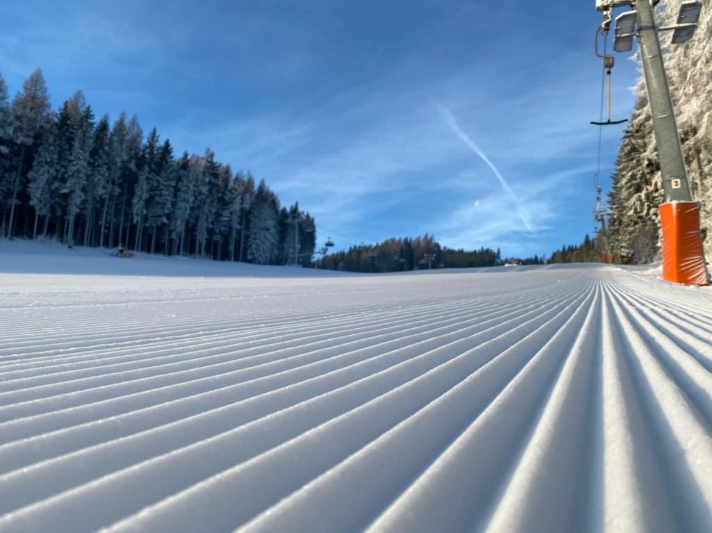 Kopřivná pod Pradědem - slunečná lyžovačka může začít