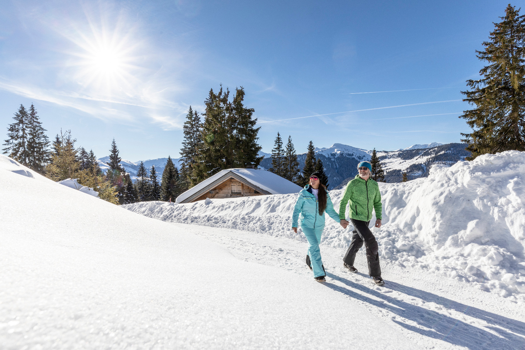 Rodeln im Ski Juwel Alpbachtal Wildschönau