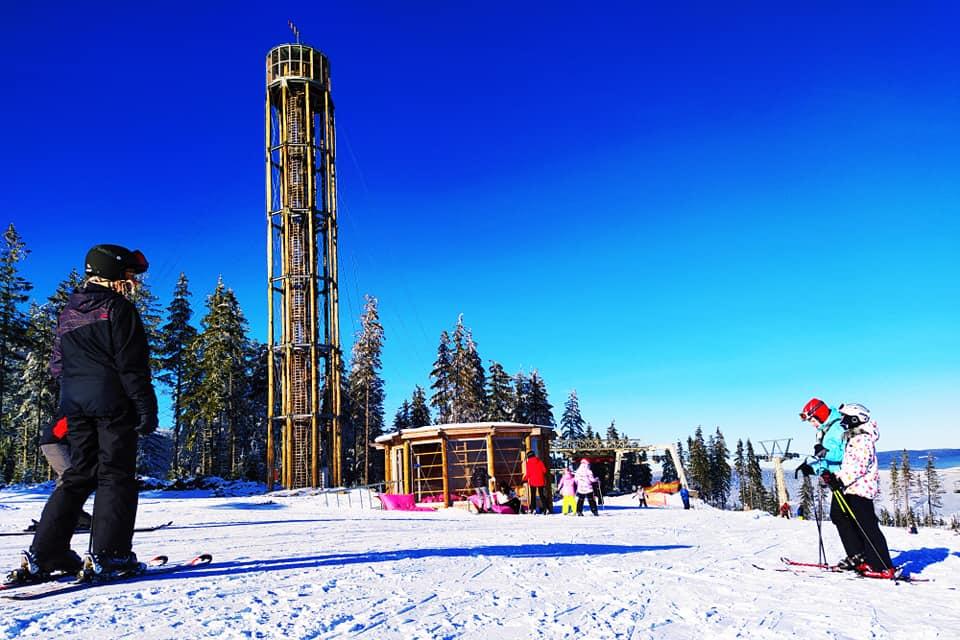 Parádní sněhové podmínky ve skiareálu Kraličák 21.1.2020