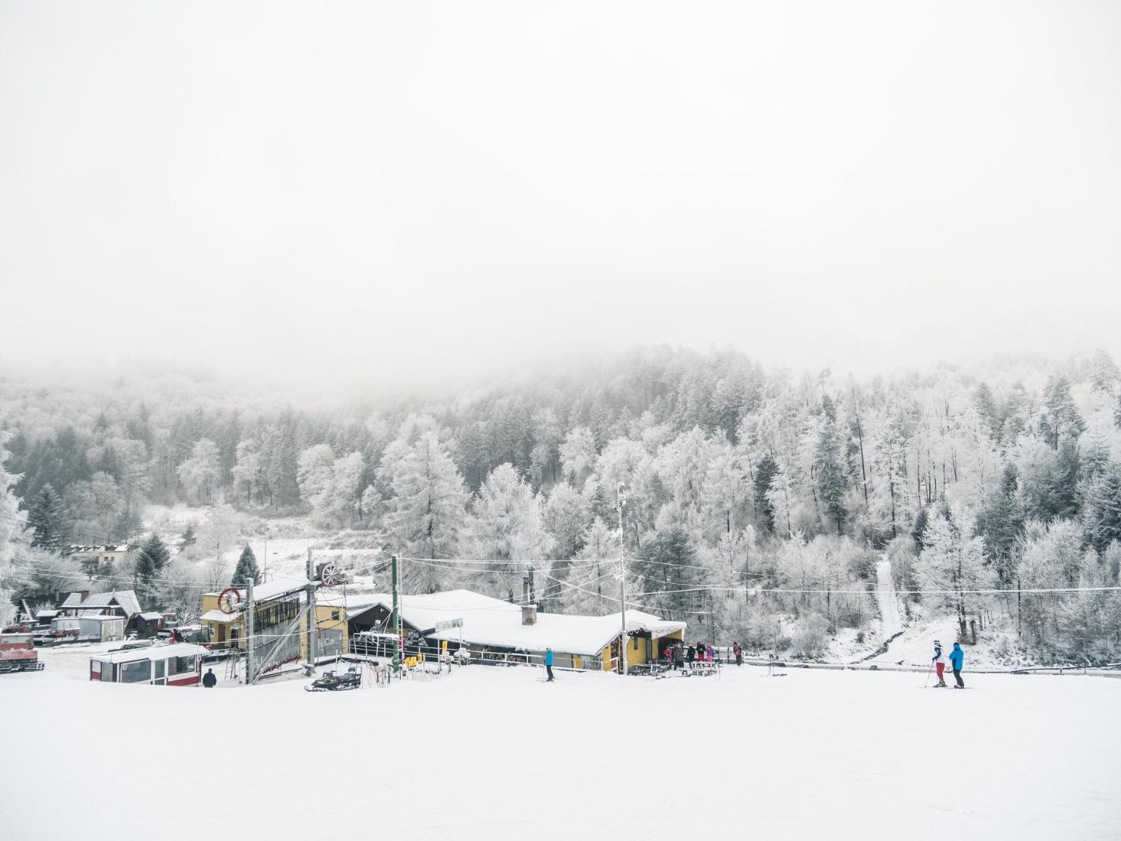 Drienica - veľmi dobré snehové podmienky 22.1.2020