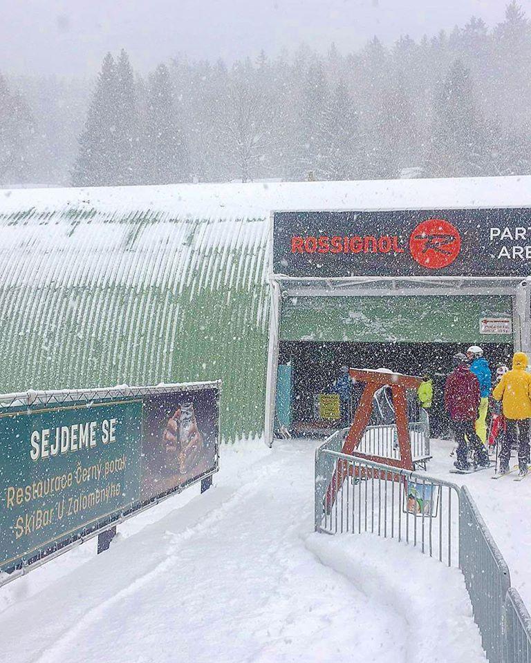 V Rokytnici sněží... 12.2.2020