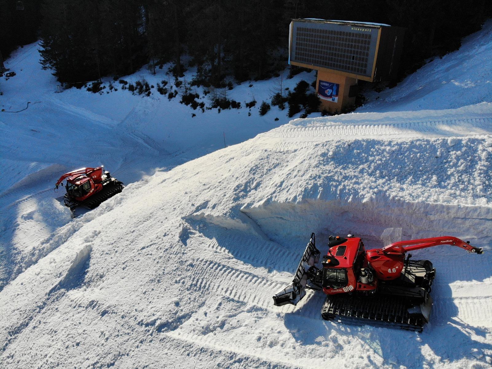 Najväčšie zásoby snehu v histórii Jasnej