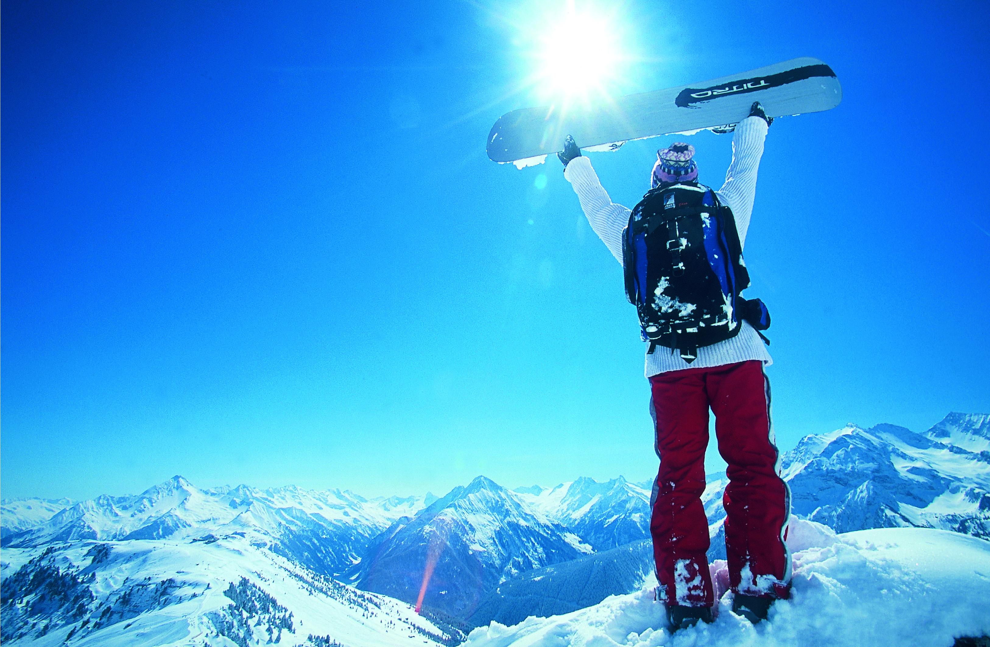 Jarní lyžování na Hintertuxu