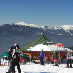 Das Skigebiet Bukovel in der Ukraine - ©Christoph Schrahe
