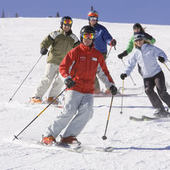Lezione di sci a Buttermilk, USA