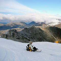 Coronet Peak, NZ: Long-lasting Snow - ©Adrian Pua